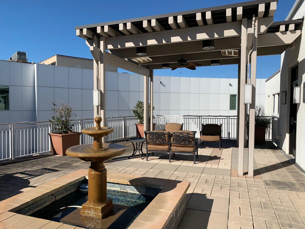 NICU Rooftop Terrace